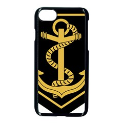 French Maritime Gendarmerie Insignia Apple Iphone 8 Seamless Case (black) by abbeyz71