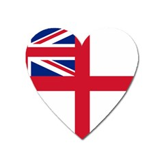 White Ensign Of Royal Navy Heart Magnet by abbeyz71