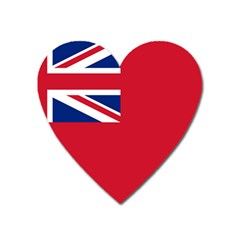 Civil Ensign Of United Kingdom Heart Magnet by abbeyz71