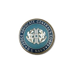 Seal Of United States Navy Judge Advocate General s Corps Golf Ball Marker (10 Pack) by abbeyz71