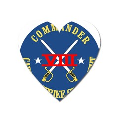 Carrier Strike Group 8 ???emblem Heart Magnet by abbeyz71