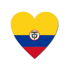Coat Of Arms Of The Colombian Navy Heart Magnet by abbeyz71