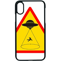 Sign Road Road Sign Traffic Apple Iphone Xs Seamless Case (black)