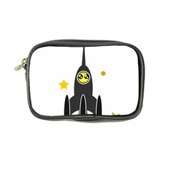 Spacecraft Star Emoticon Travel Coin Purse