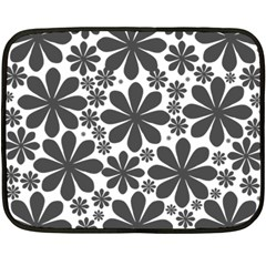 Black & White Double Sided Fleece Blanket (mini)