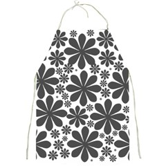 Black & White Full Print Aprons