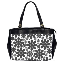 Black & White Oversize Office Handbag (2 Sides)