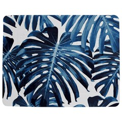 Blue Monstera Leaves Jigsaw Puzzle Photo Stand (rectangular) by goljakoff