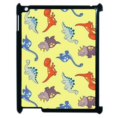 Dinosaurs   Yellow Finch Apple Ipad 2 Case (black) by WensdaiAddamns