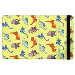 Dinosaurs   Yellow Finch Apple Ipad 3/4 Flip Case by WensdaiAddamns