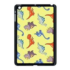Dinosaurs   Yellow Finch Apple Ipad Mini Case (black) by WensdaiAddamns