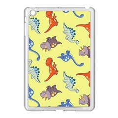 Dinosaurs   Yellow Finch Apple Ipad Mini Case (white) by WensdaiAddamns