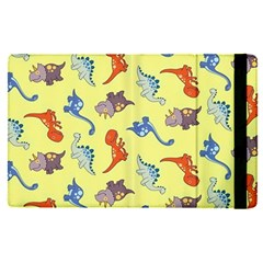 Dinosaurs   Yellow Finch Apple Ipad Pro 9 7   Flip Case by WensdaiAddamns