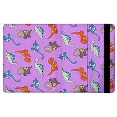 Dinosaurs   Violet Apple Ipad 3/4 Flip Case by WensdaiAddamns