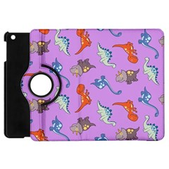 Dinosaurs   Violet Apple Ipad Mini Flip 360 Case by WensdaiAddamns