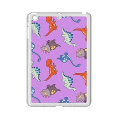 Dinosaurs   Violet Ipad Mini 2 Enamel Coated Cases by WensdaiAddamns