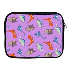 Dinosaurs   Violet Apple Ipad 2/3/4 Zipper Cases by WensdaiAddamns