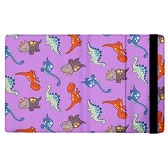 Dinosaurs   Violet Apple Ipad Pro 12 9   Flip Case by WensdaiAddamns