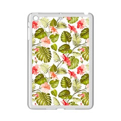 Tropical Leaves Ipad Mini 2 Enamel Coated Cases by goljakoff