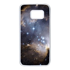 Constellation Samsung Galaxy S7 White Seamless Case by WensdaiAmbrose