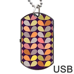 Zappwaits Retro Dog Tag Usb Flash (two Sides) by zappwaits