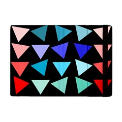 Zappwaits Triangles Apple Ipad Mini Flip Case by zappwaits