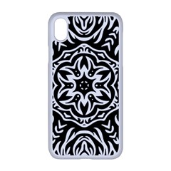 Pattern Star Design Texture Apple Iphone Xr Seamless Case (white)