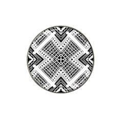 Pattern Tile Repeating Geometric Hat Clip Ball Marker