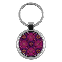 Backdrop Background Cloth Colorful Key Chains (round)