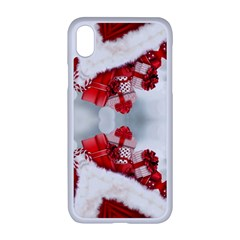 Christmas Background Tile Gifts Apple Iphone Xr Seamless Case (white)
