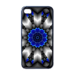 Kaleidoscope Abstract Round Apple Iphone 4 Case (black) by Pakrebo