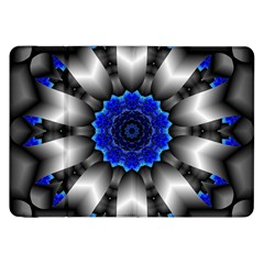 Kaleidoscope Abstract Round Samsung Galaxy Tab 8 9  P7300 Flip Case by Pakrebo