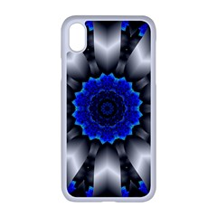 Kaleidoscope Abstract Round Apple Iphone Xr Seamless Case (white)