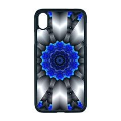 Kaleidoscope Abstract Round Apple Iphone Xr Seamless Case (black)