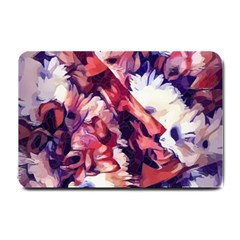 Flowers Bouquets Vintage Pop Art Small Doormat