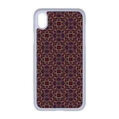 Pattern Decoration Art Ornate Apple Iphone Xr Seamless Case (white)