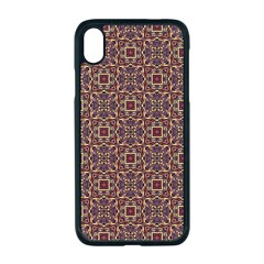 Pattern Decoration Art Ornate Apple Iphone Xr Seamless Case (black)