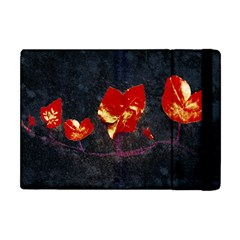 Grunge Floral Collage Design Apple Ipad Mini Flip Case by dflcprintsclothing