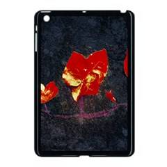 Grunge Floral Collage Design Apple Ipad Mini Case (black) by dflcprintsclothing