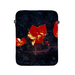 Grunge Floral Collage Design Apple Ipad 2/3/4 Protective Soft Cases by dflcprintsclothing