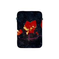 Grunge Floral Collage Design Apple Ipad Mini Protective Soft Cases by dflcprintsclothing