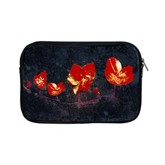Grunge Floral Collage Design Apple Ipad Mini Zipper Cases by dflcprintsclothing