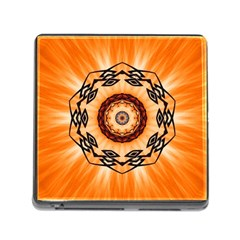 Abstract Kaleidoscope Colorful Memory Card Reader (square 5 Slot)