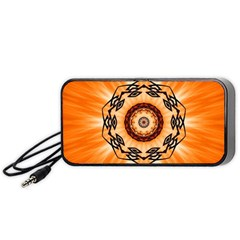 Abstract Kaleidoscope Colorful Portable Speaker