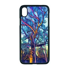 Tree Colorful Nature Landscape Apple Iphone Xr Seamless Case (black)
