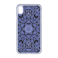Tile Design Art Mosaic Pattern Apple Iphone Xr Seamless Case (white)