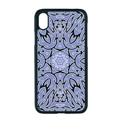 Tile Design Art Mosaic Pattern Apple Iphone Xr Seamless Case (black)