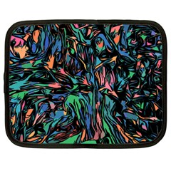 Tree Forest Abstract Forrest Netbook Case (xxl)