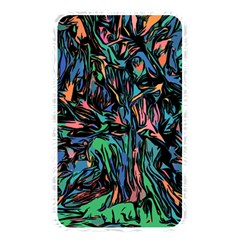 Tree Forest Abstract Forrest Memory Card Reader (rectangular)