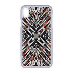 Arabic Backdrop Background Cloth Apple Iphone Xr Seamless Case (white)